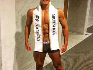 2016ベストボディジャパン福島大会の優勝者・木村綱希トレーナー