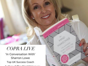 COPRA Invites Sharron Lowe onto Instagram Live For Mind Makeover Tips in Lockdown