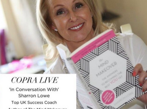 COPRA Invites Sharron Lowe onto Instagram Live For Mind Makeover Tips in Lockdown