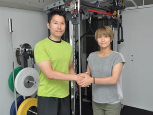 水野裕子さんに axis mishuku を取材頂きました