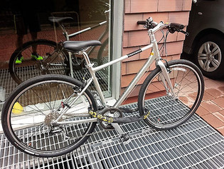 自転車での通勤中に考えること
