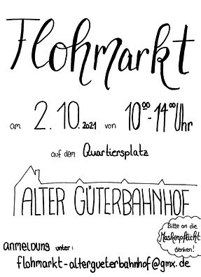 Flohmarkt Alter Güterbahnhof