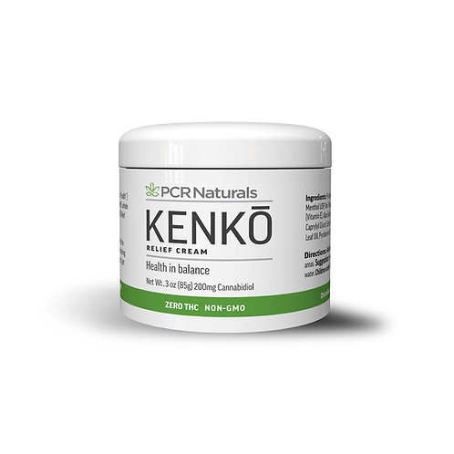 KENKŌ Relief Cream 3oz - 200mg