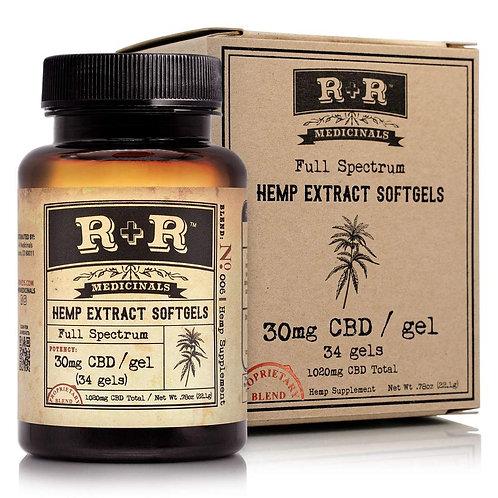 R & R CBD SoftGels (Full - Spectrum)