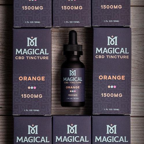 Magical CBD Oil 1500mg - Orange