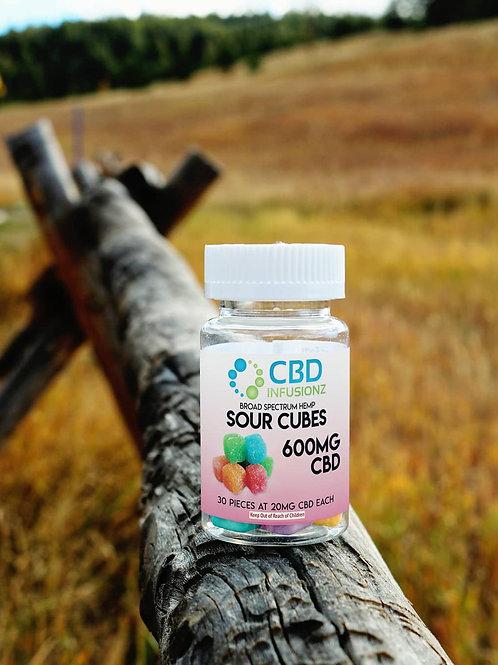 Sour Cubes CBD Gummies