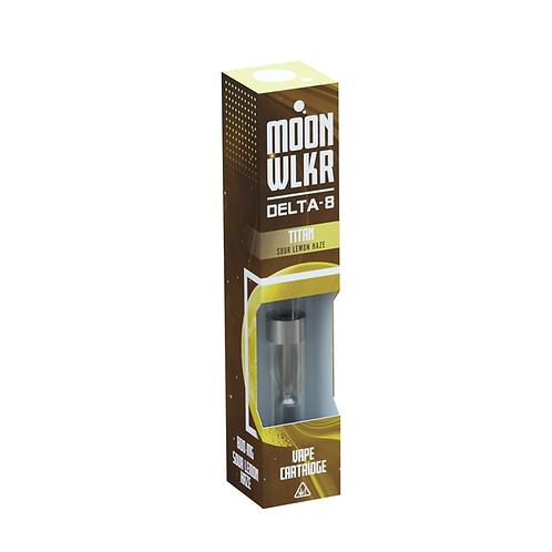 MoonWlkr Delta-8 THC Vape - Sour Lemon Haze - Titan
