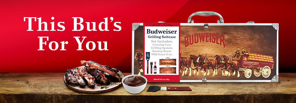C232 Budweiser Grilling Suitcase LIFESTY