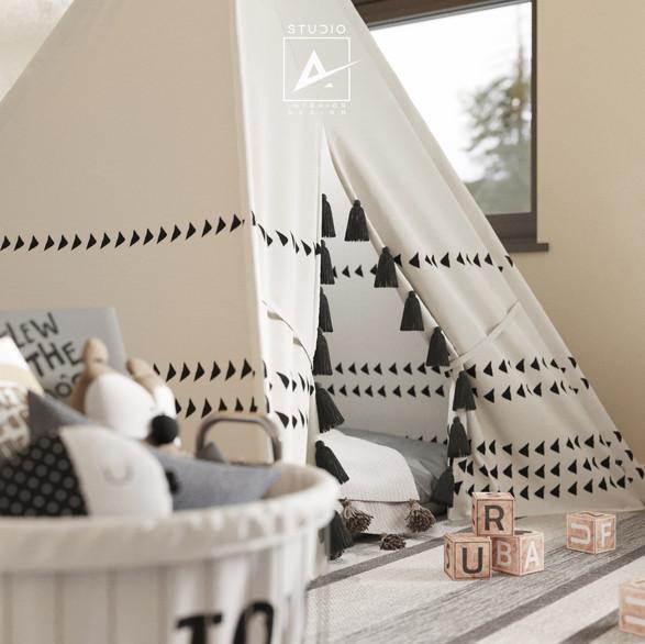 Kids' bedroom, California