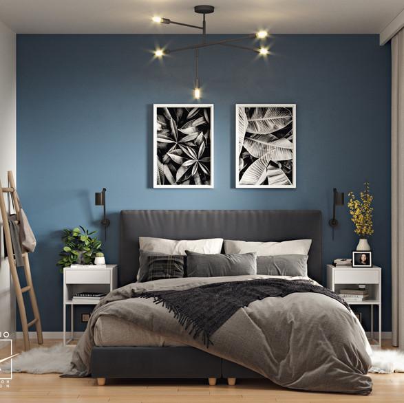 Master bedroom, EU