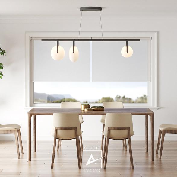 Dining room, California