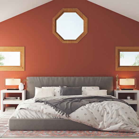 Master bedroom, California
