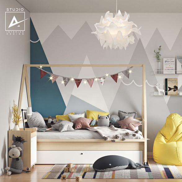 Girl's bedroom, EU