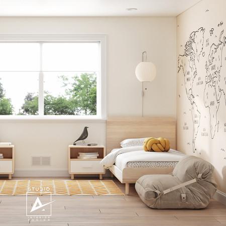 Boys' bedroom, California