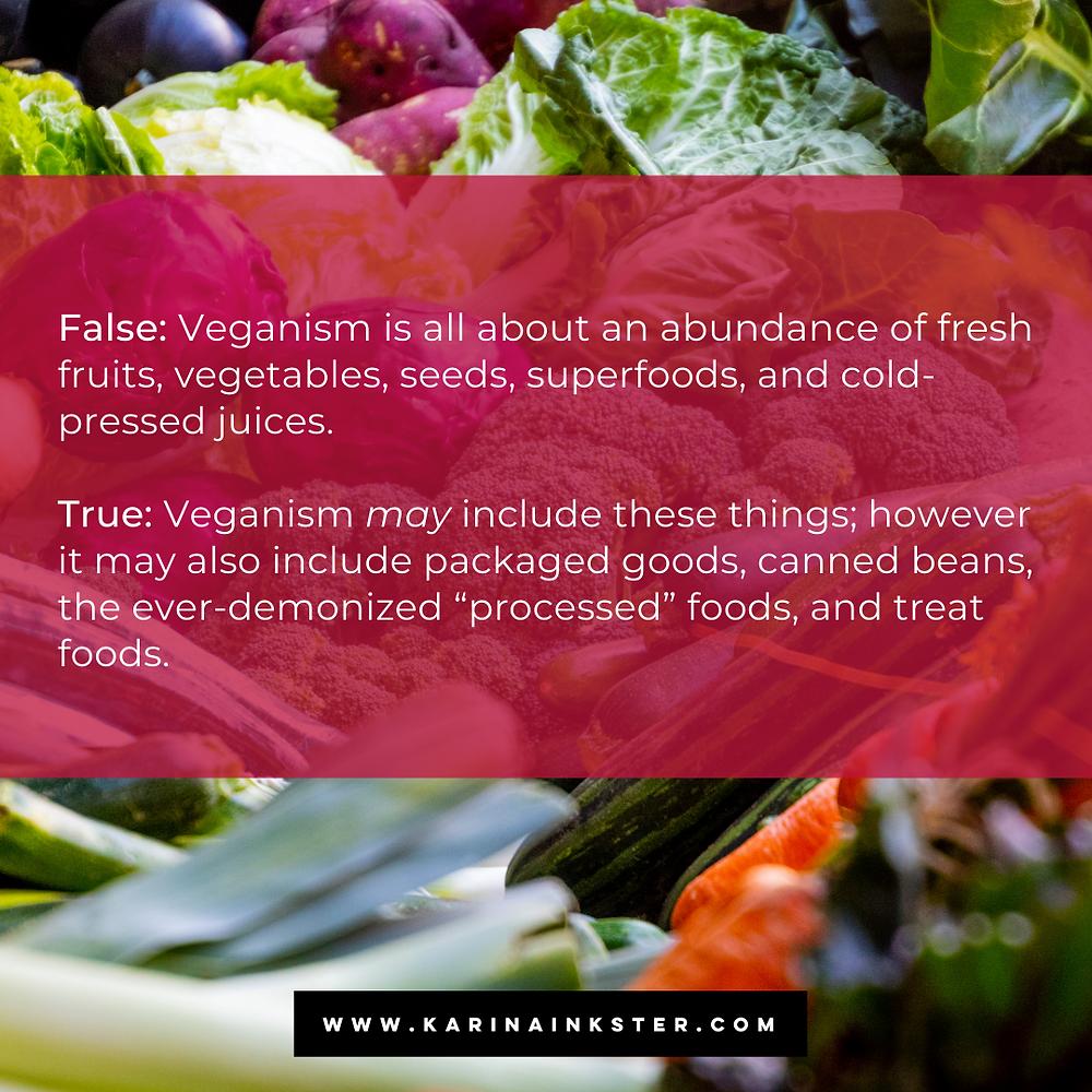 Vegan diet facts