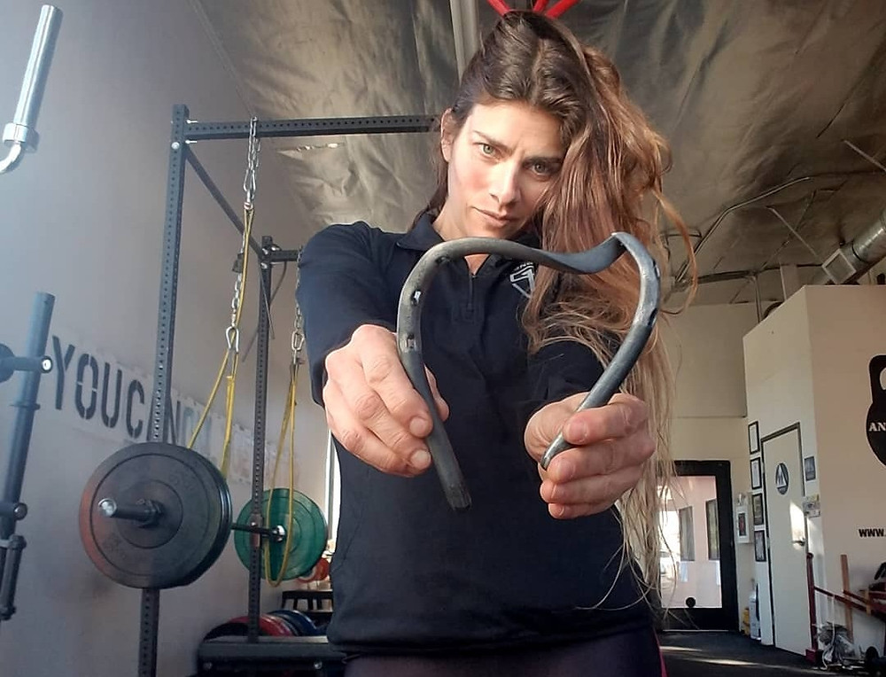 Vegan fitness coach Melody Schoenfeld