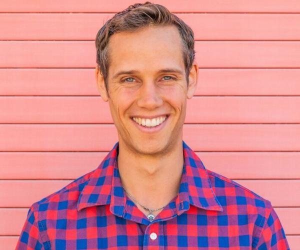 Vegan author and entrepreneur Robby Barbaro