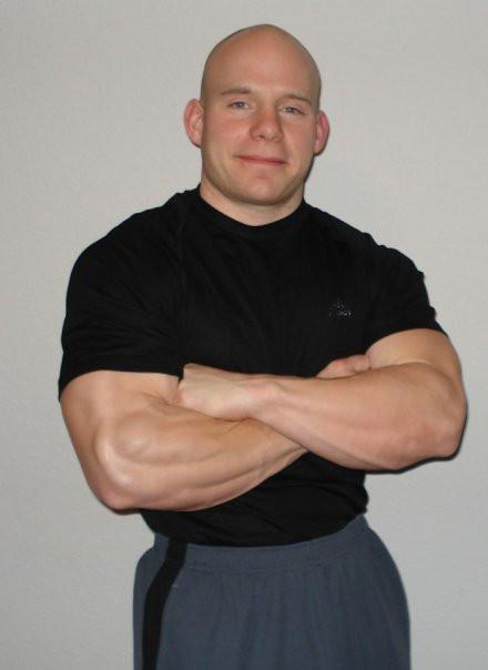Elite strength athlete Matt Terry