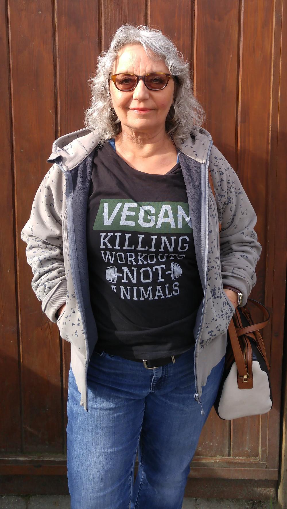 Vegan lawyer Pat Kendall