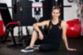 Karina Inkster   vegan personal trainer