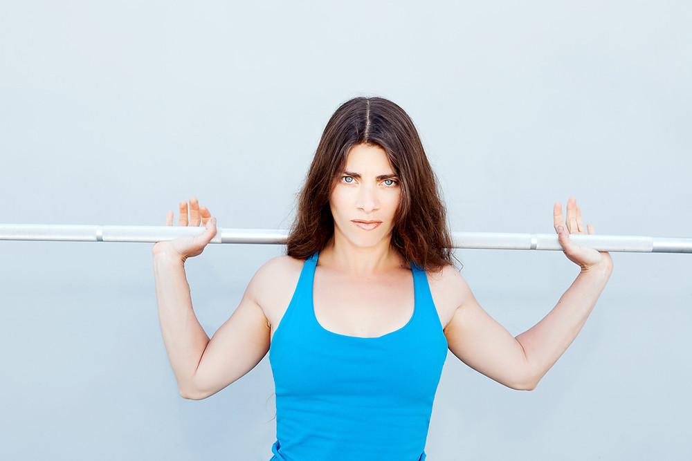 Vegan personal trainer Melody Schoenfeld
