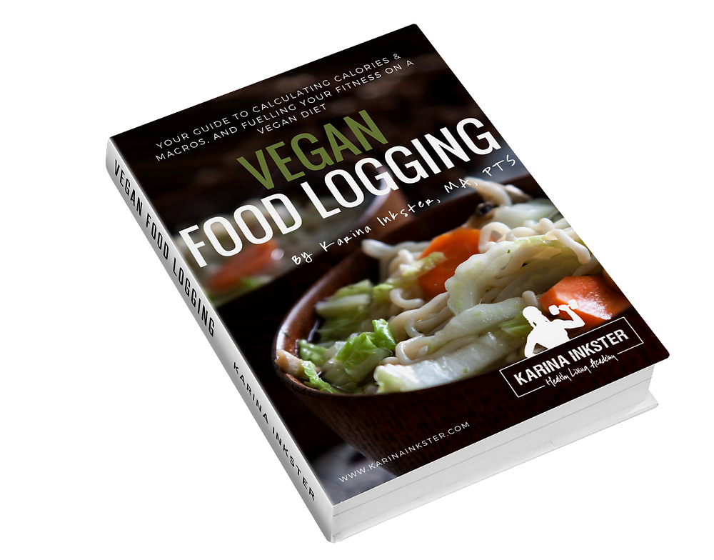 ebook Vegan Food Logging by Karina Inkster