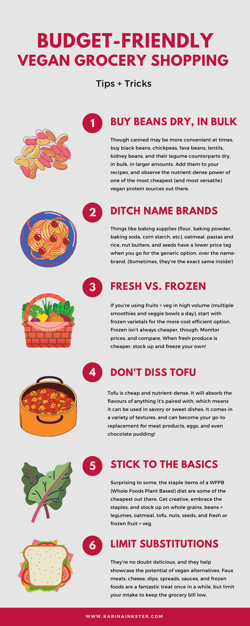 Budget-friendly vegan grocery shopping tips
