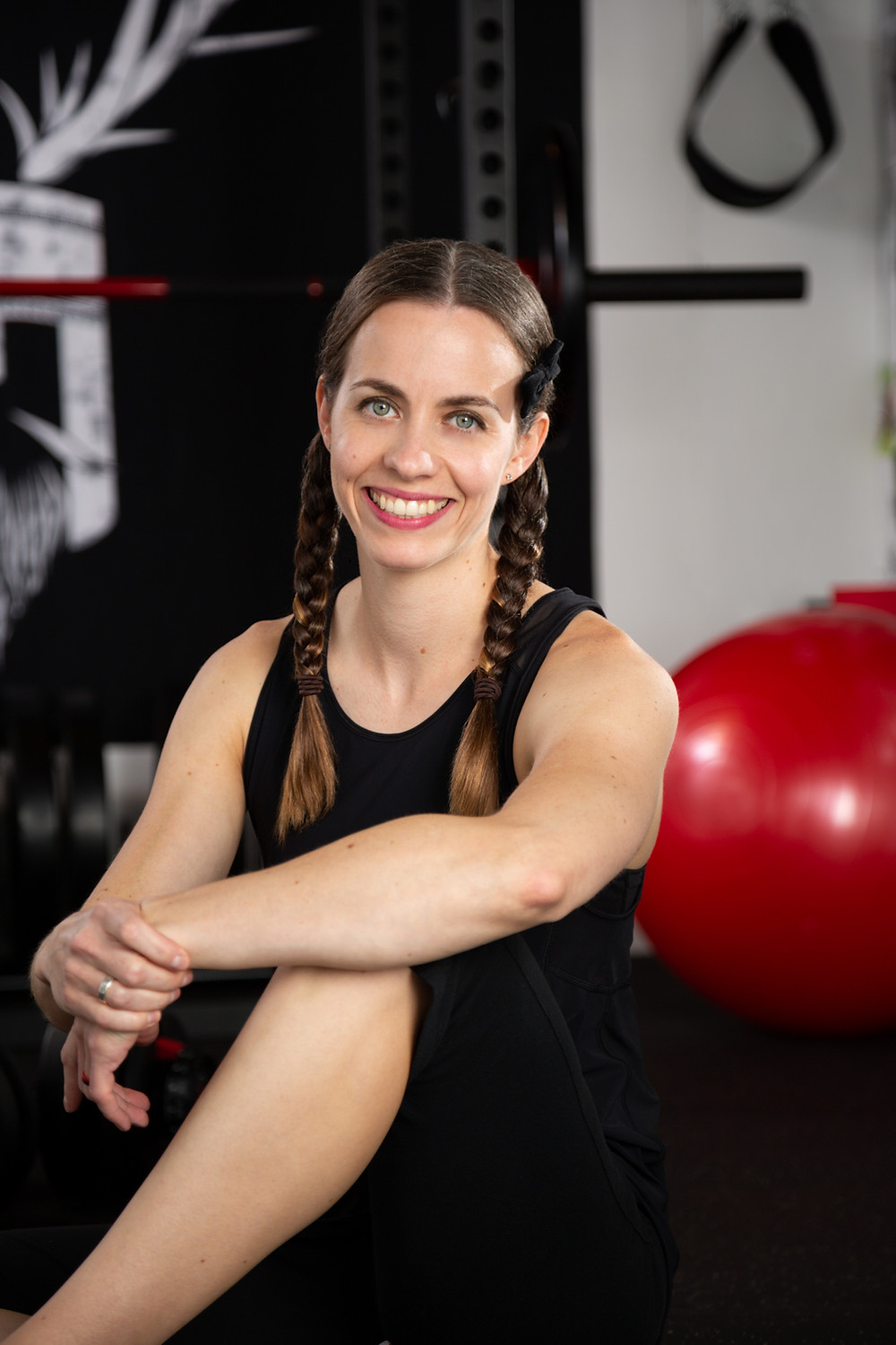 Fitness and nutrition coach Karina Inkster