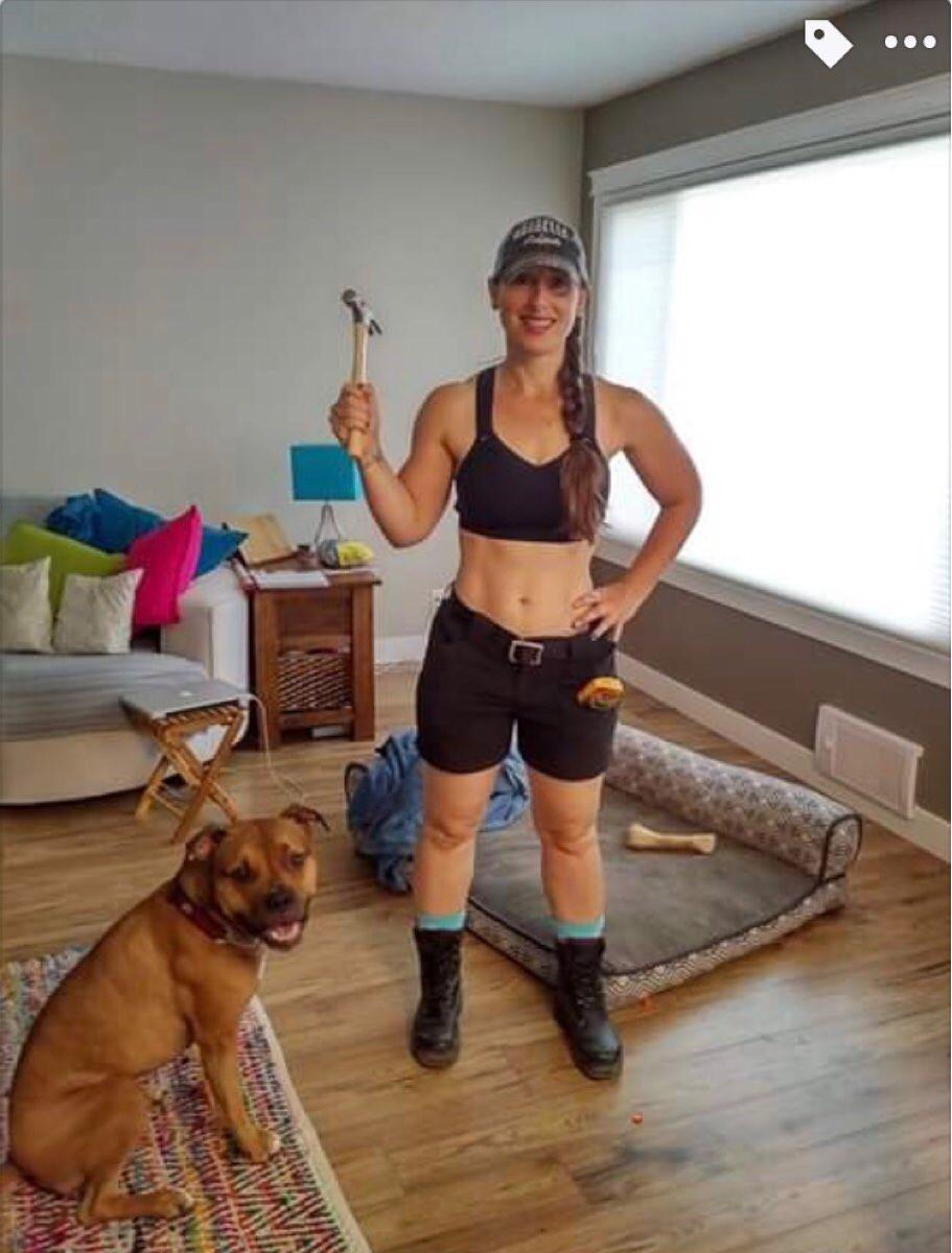 Susi de Leeuw, vegan fitness nut