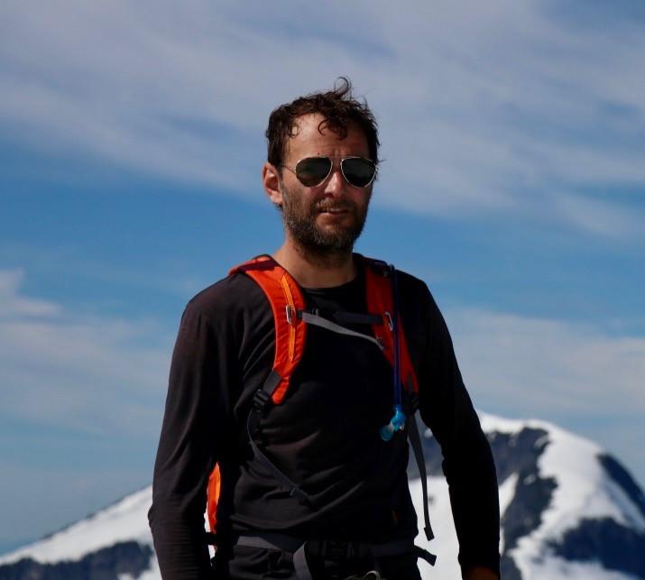 Vegan mountaineer Jason Addy