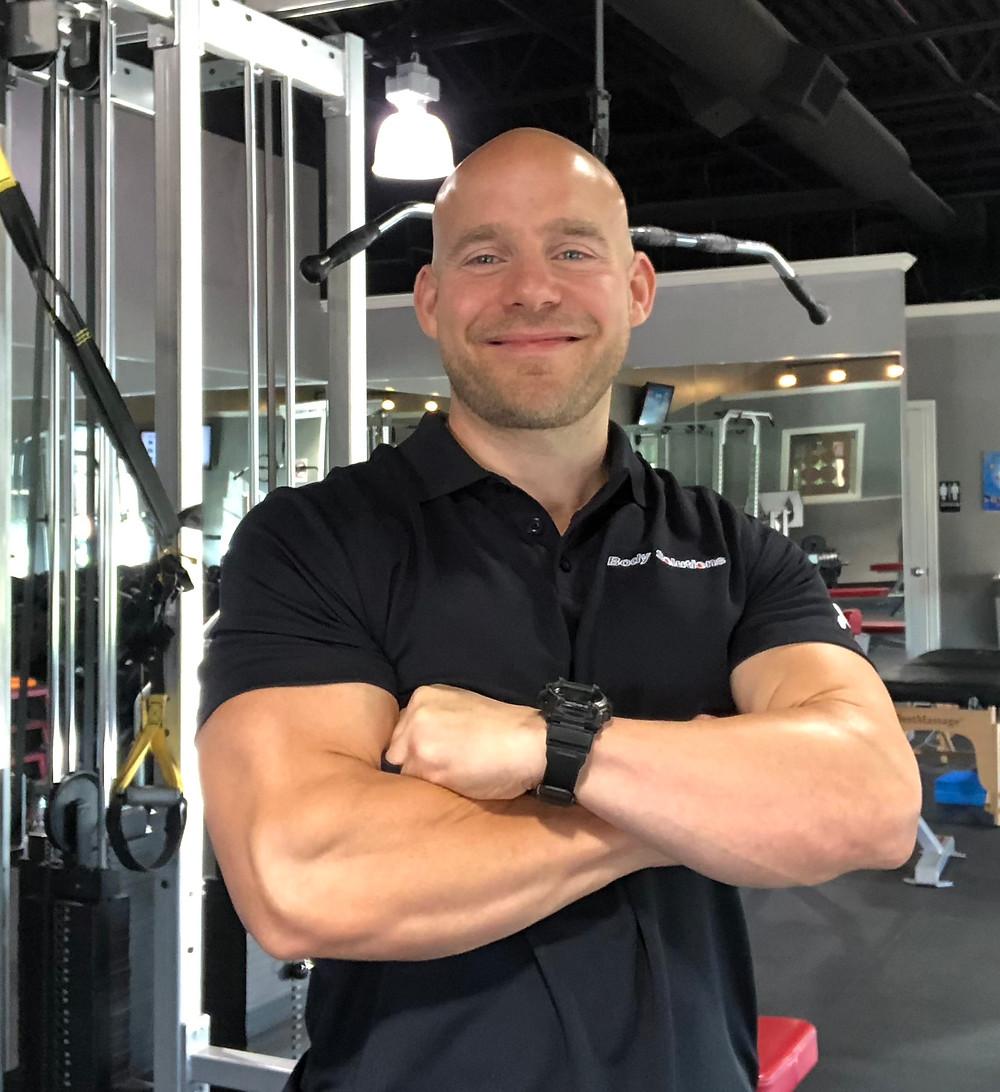 Vegan fitness and nutrition coach Matt Terry