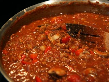 Registered Holistic Nutritionist Emma Levez Laroque's go-to spaghetti sauce recipe