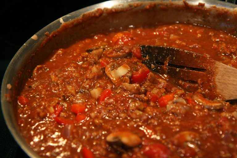 Vegan spaghetti sauce recipe