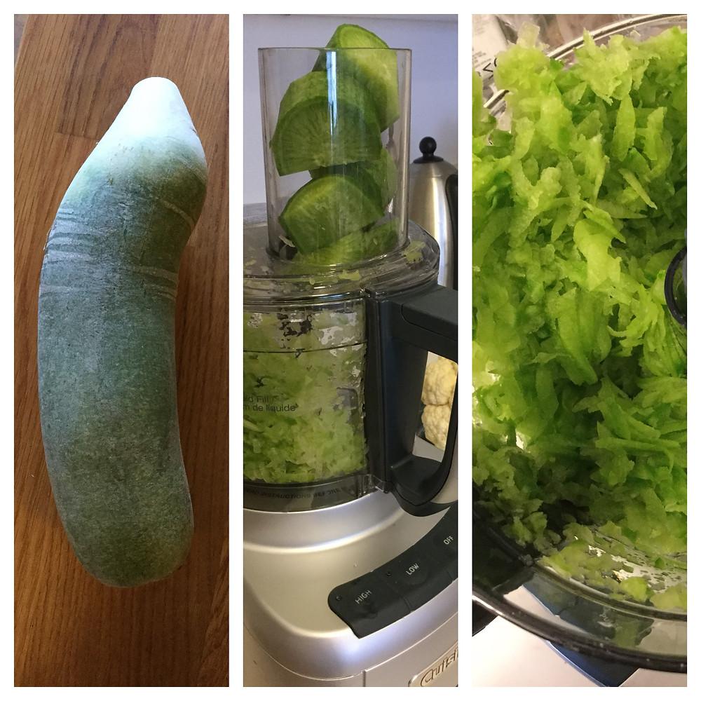 Green daikon