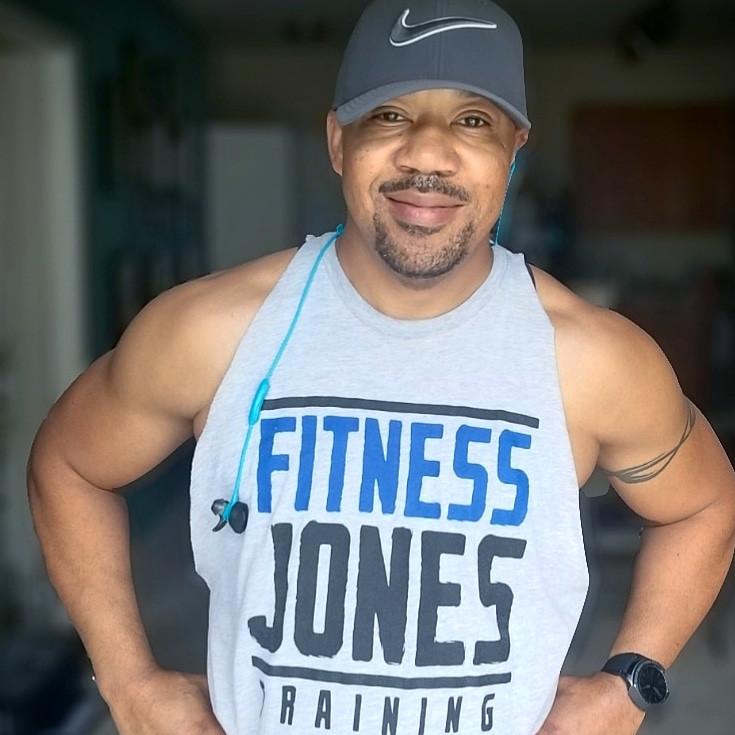 Vegan fitness coach Ren Jones