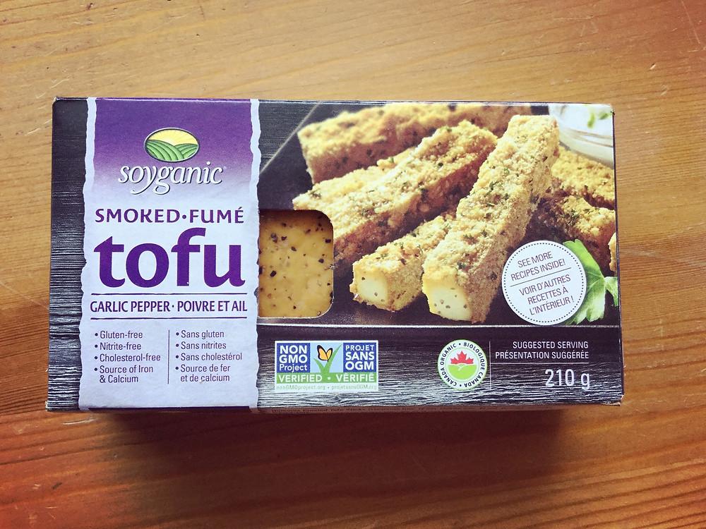 Soyganic smoked tofu