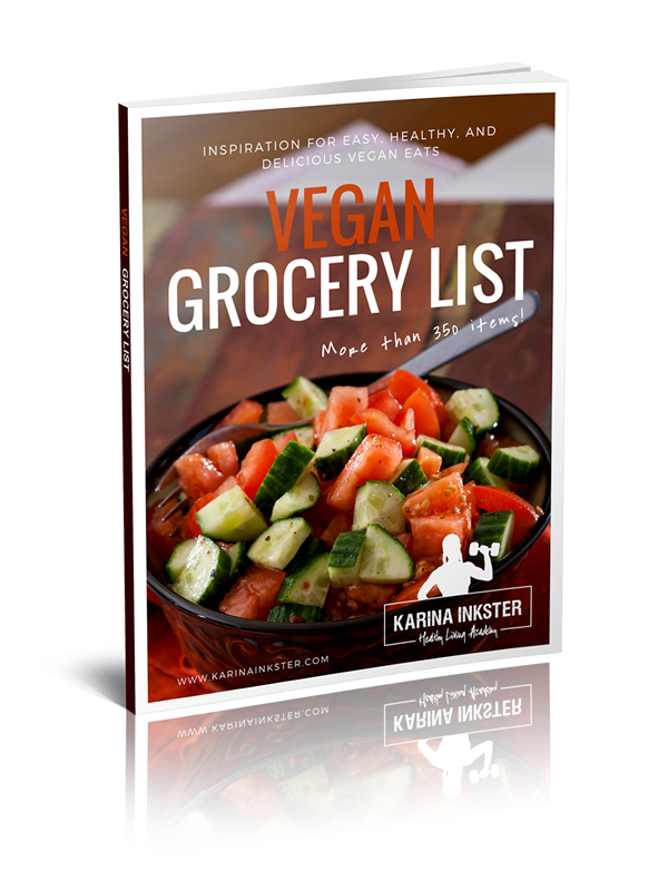 Vegan Grocery List by Karina Inkster