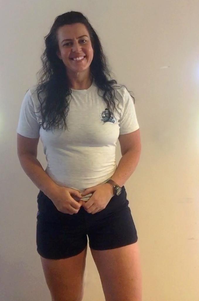 Vegan fitness coach Margs O'Farrell