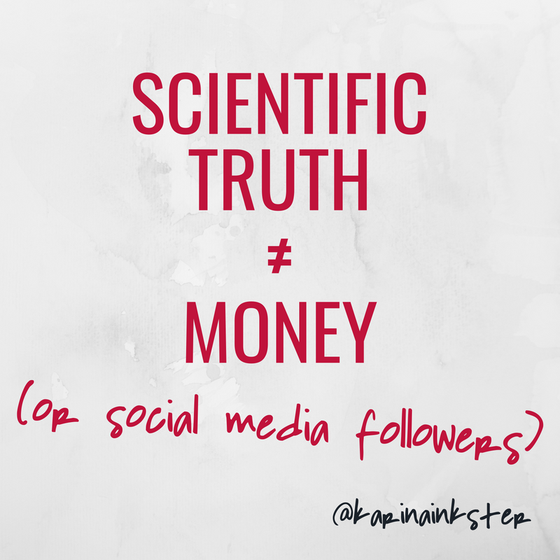 Scientific truth quote by Karina Inkster