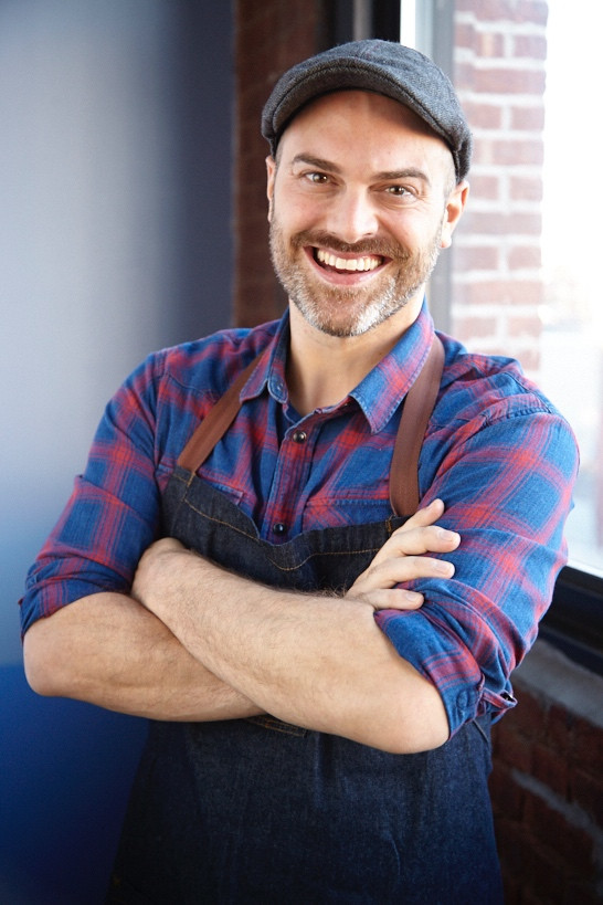 Plant-based chef Dustin Harder