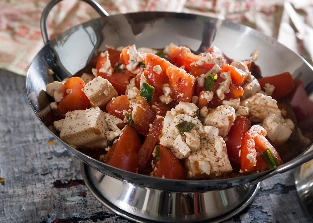 Tofu dish