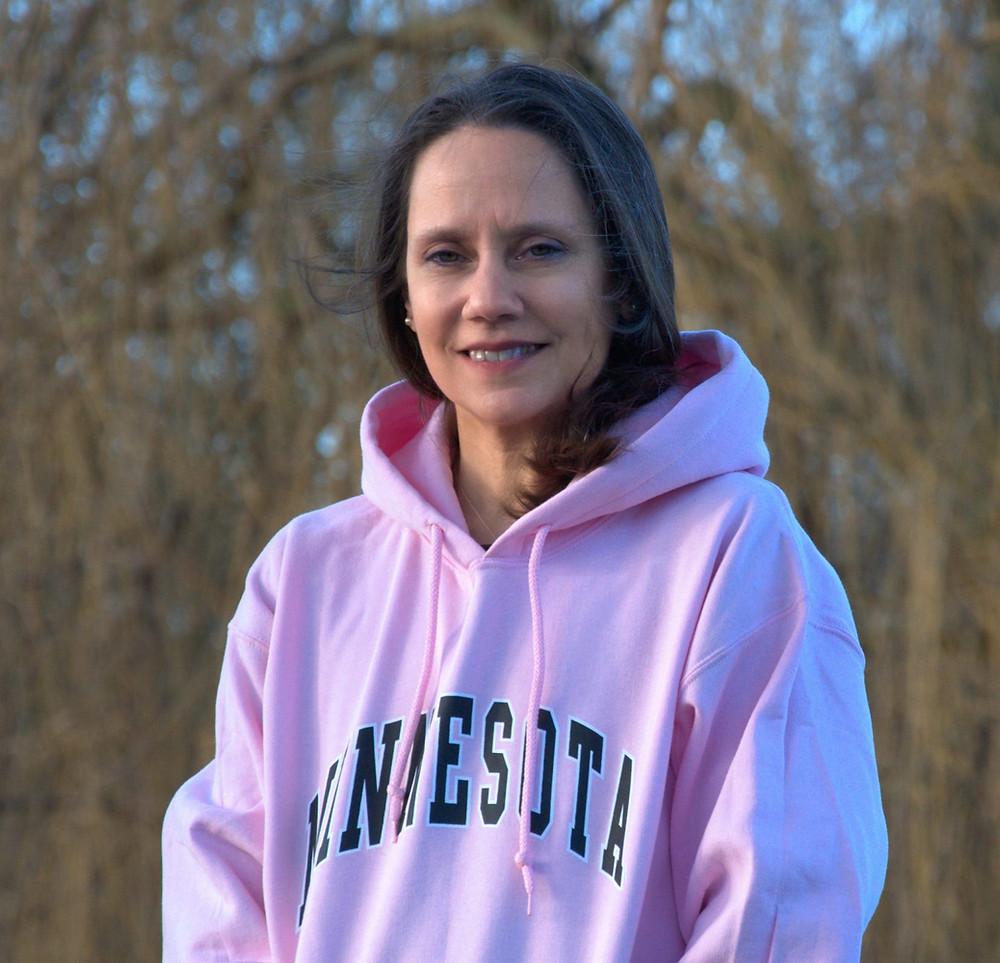 Vegan author Peggy Brusseau