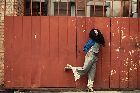 Canva - Woman Wearing Grey Jumpsuit Stan