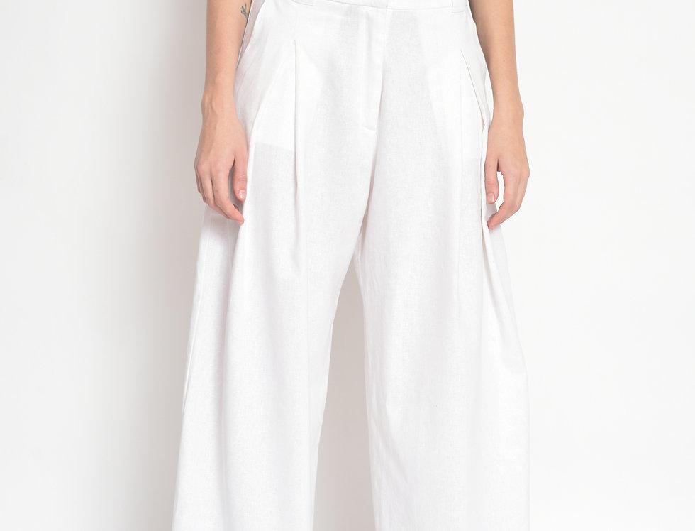 Calça Pantalona Pregas