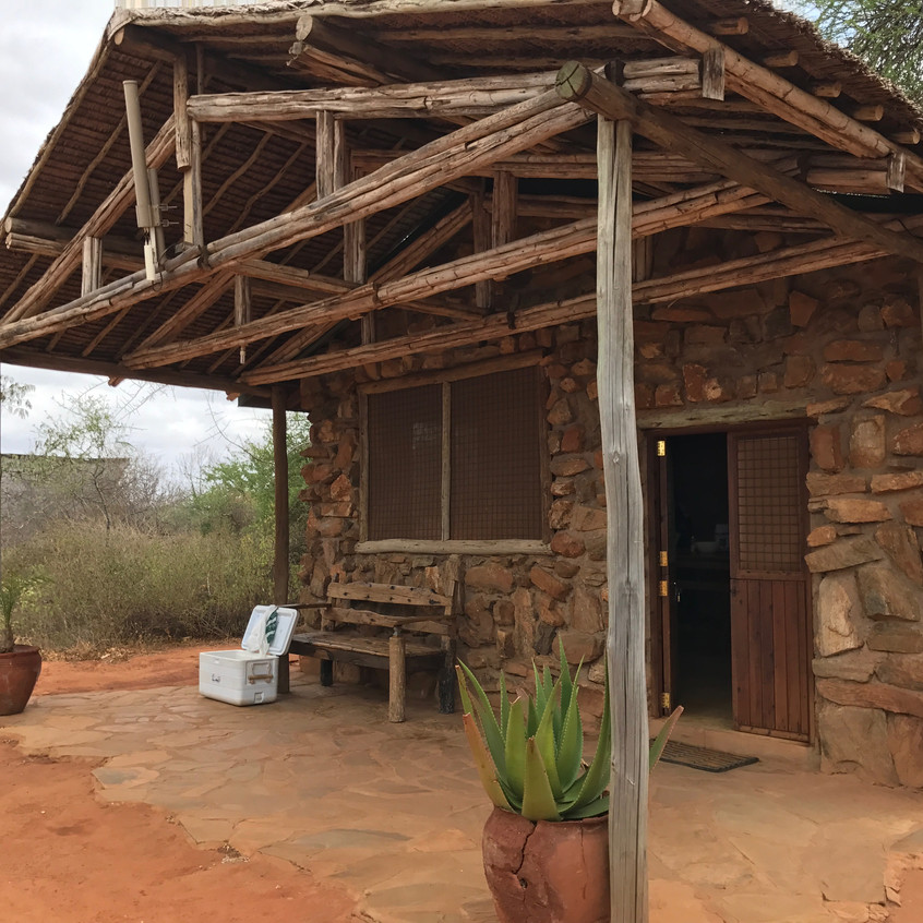 Die Küche als einzelnes Cottage
