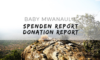 Spenden Report: Gute Neuigkeiten für Baby Mwanaulu