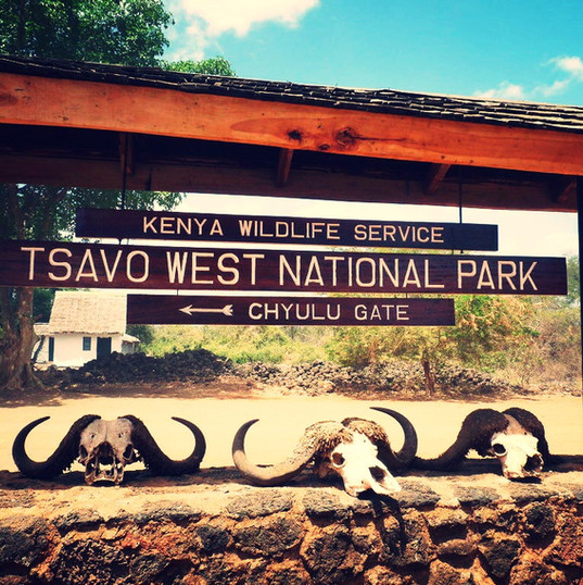 Tsavo West Kenia MAREFU Safaris