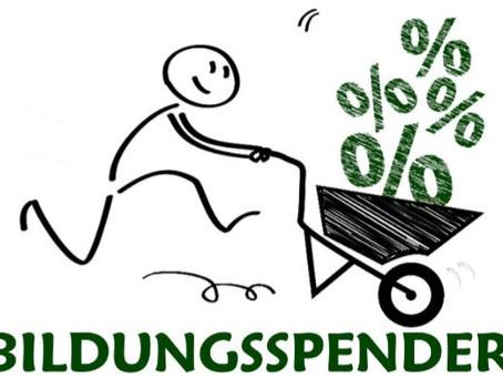 Beim Shoppen spenden mit Bildungsspender.de