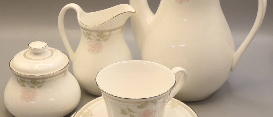 Royal Doulton Twilight Rose H5096 Coffee Bundle