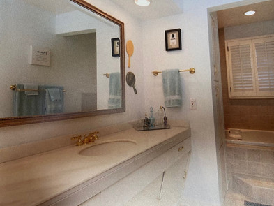 Before & After: The Story of Two Bathrooms and A Shower For One.